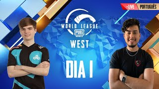 [PT] PMWL WEST - Opening Weekend | Day 1 | PUBG MOBILE World League Season Zero (2020)