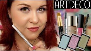 ARTDECO ДЕКОРАТИВНАЯ КОСМЕТИКА/ОБЗОР/СВОТЧИ/МНЕНИЕ/МАКИЯЖ - Видео от Beauty Tester