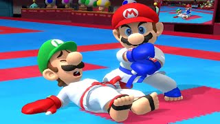 Mario & Sonic at the Olympic Games Tokyo 2020 - All Character Takedown Animations (Karate)