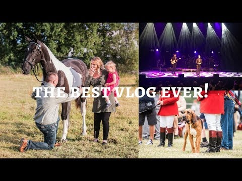 FESTIVAL OF HUNTING, SAM ON TOUR & A PROPOSAL SHOOT -  Weekly Vlog #46, Sophie Callahan Photography