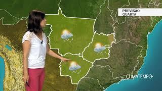 Previsão Centro-Oeste – Calor e pancadas de chuva