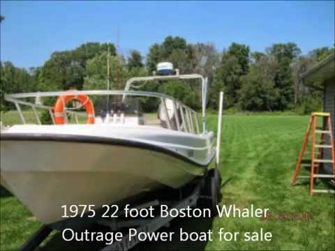 1975 22 foot Boston Whaler Outrage Power boat for sale  $7000  Valparaiso,  IN
