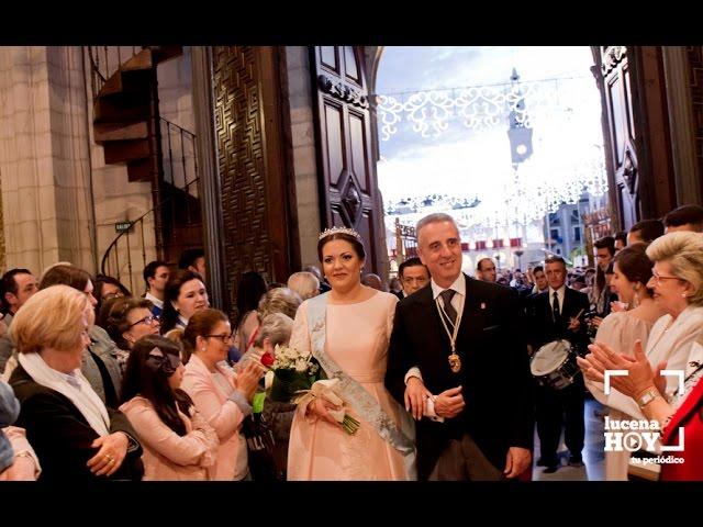 VÍDEO: Fiestas Aracelitanas: Retazos del Pregón de María Stma. de Araceli y la llegada a San Mateo de la Corte Aracelitana