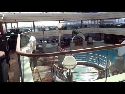 MSC Magnifica Inside Pool and Whirlpools