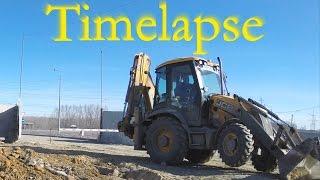 Видео про трактора в работе. Таймлапс.
