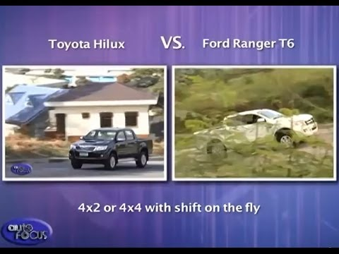 Auto Focus Head 2 Head: Toyota Hilux VS Ford Ranger T6 2013