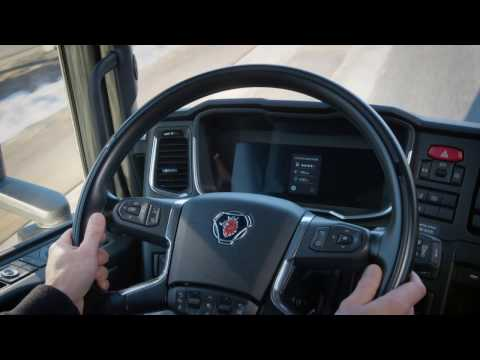 Scania Semi-Autonomous Platooning