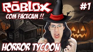 Roblox with Facecam-I turned a witch (Horror Tycoon #1)