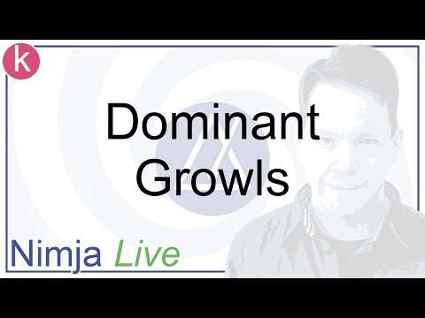 Hypnosis - Dominant Growls - Nimja Live - October 2019