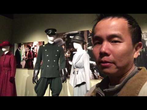 Dressing Downton (Downton Abbey exhibit) at Muzeo, Anaheim (bonus footage)