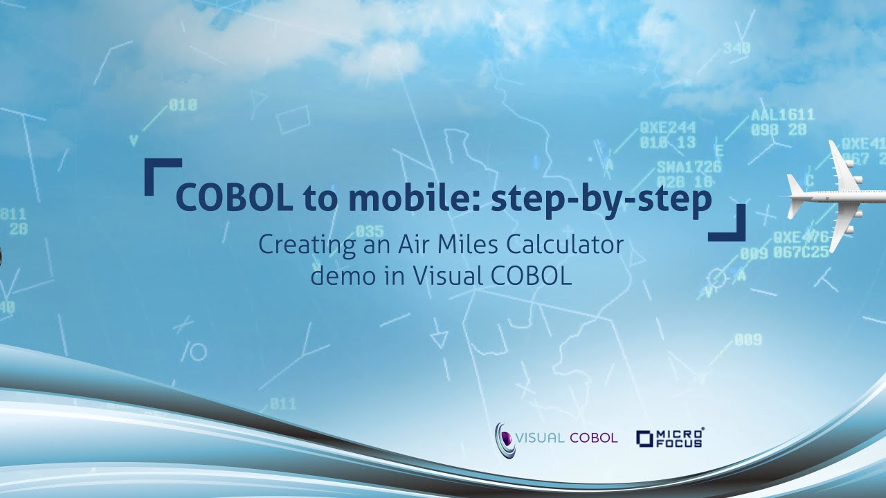 Air Mileage Calculator >> Creating An Air Miles Calculator Demo In Visual Cobol Cobol To Mobile Step By Step