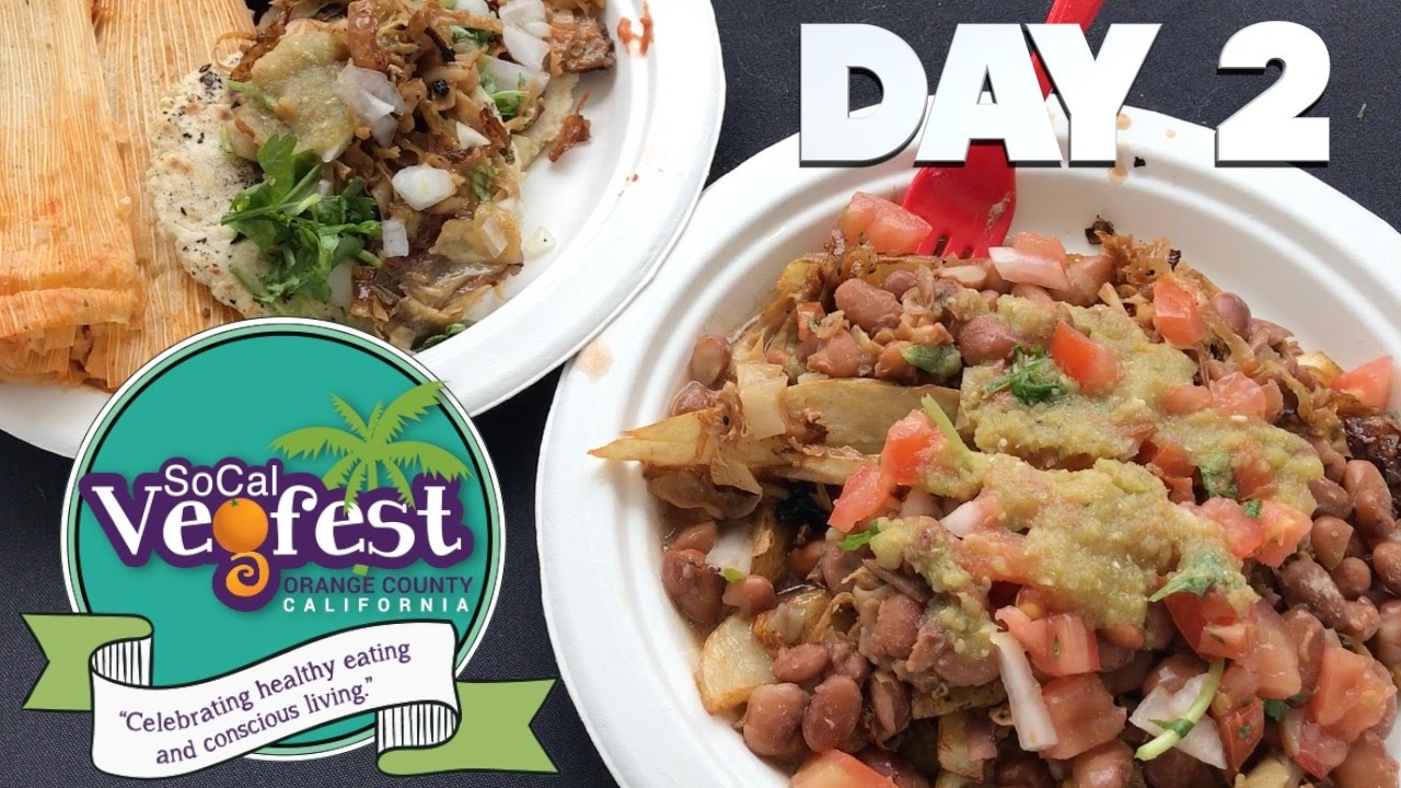 SoCal VegFest Day 2: Anji's Speech & BEST Vegan Taqueria