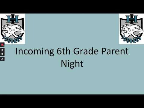 Iron Horse Middle School 2020-2021 Incoming 6th Grade Parent Presentation