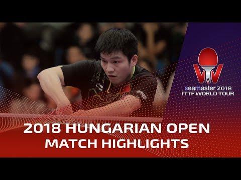 2018 Hungarian Open Highlights: Fan Zhendong vs Wang Chuqin (Final)