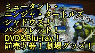 ミュータント・ニンジャ・タートルズ「シャドウズ」のパンフレット!DVD...
