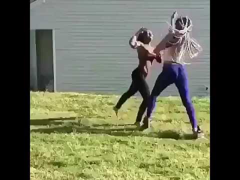 Black girl fight