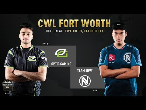 Optic Gaming Vs Team Envy | CWL Fort Worth 2019 | Day 1