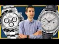 Rolex Daytona Or Omega Grey Side? Luxury Watch Buying FUNdamentals