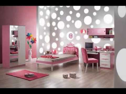 Diy Black White And Pink Bedroom Design Decorating Ideas Youtube