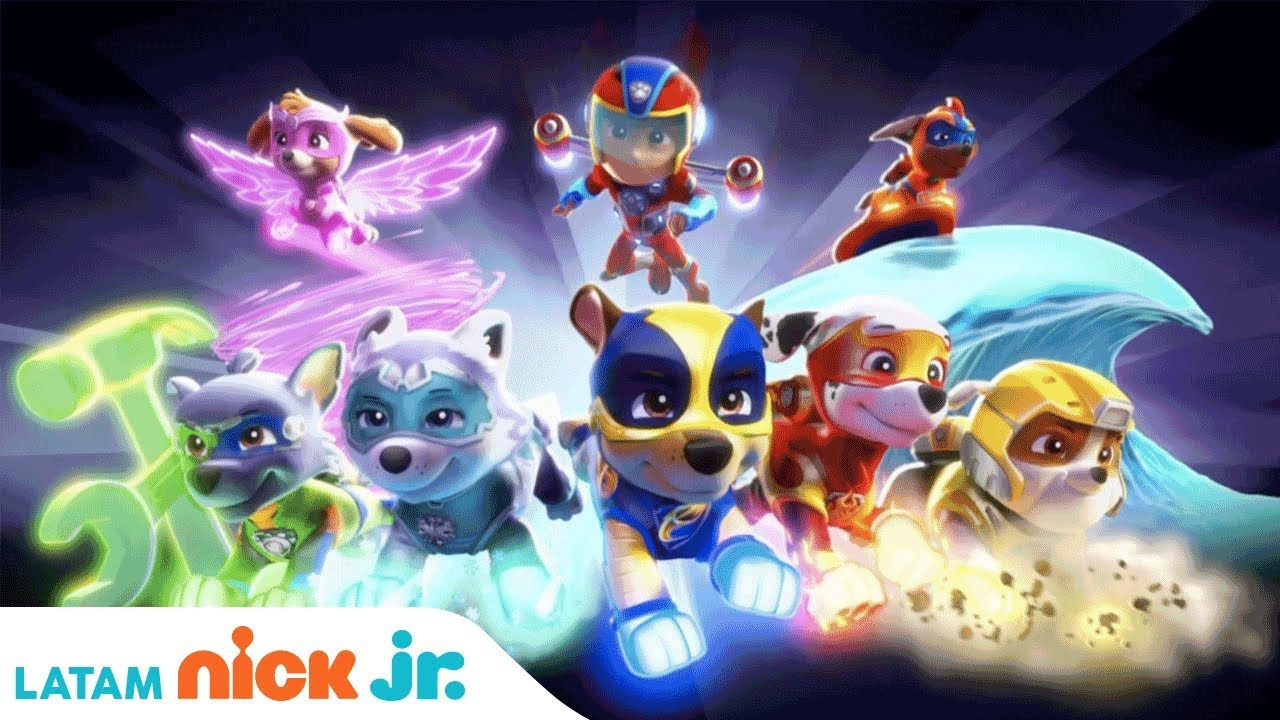 Paw Patrol Mighty Pups 🐾 Canci 243 N Oficial Nick Jr