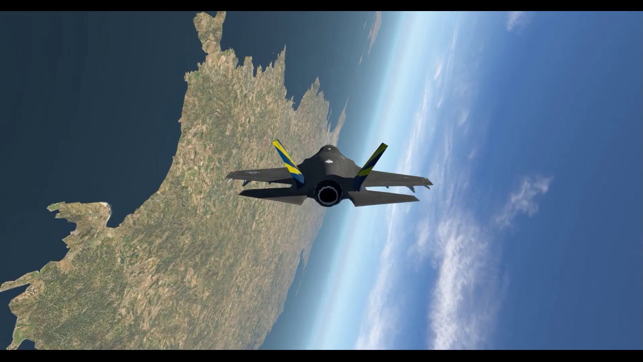X-Plane 11 -- F-35 Lightning II Test-Flight Part 1 -- Ibiza, Spain (LEIB)