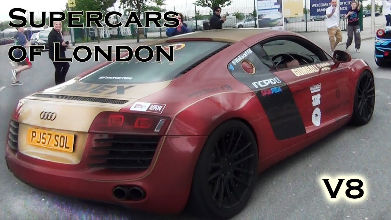 Brutal Audi W Armytrix Exhaust Sound Supercars Of London