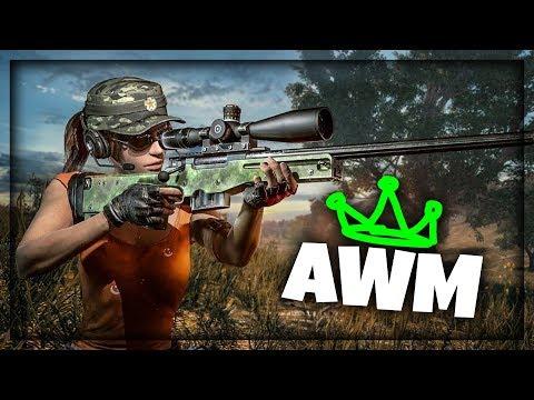 AWM ZAVRSAVA POSAO ! Playerunknown's Battlegrounds
