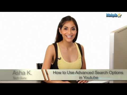 How To Use Advanced Search Options In Youtube