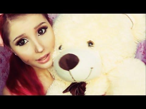 Ariana Grande make-up transformation by Anastasiya Shpagina