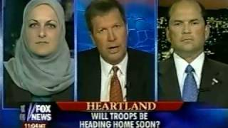 Edina Lekovic Discuess Iraq War - Fox News 2006
