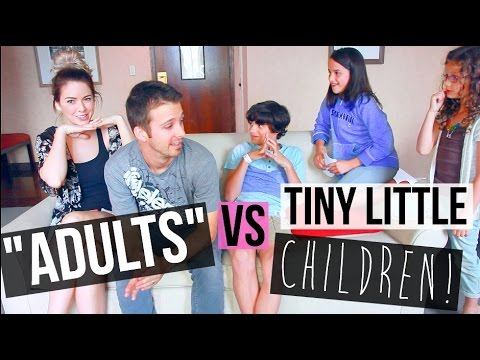 ADULT vs KID Challenge With Bratayley!!!