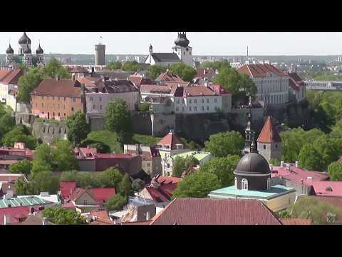 Kohtuotsa viewing platform view from Oleviste Church. Tallinn.