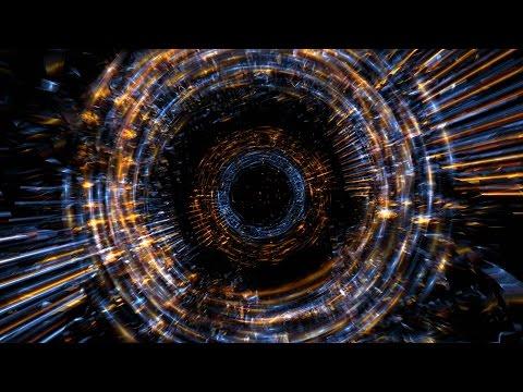 4K Dark Fire Rings Zoom Effect Motion Background 2160p thumbnail