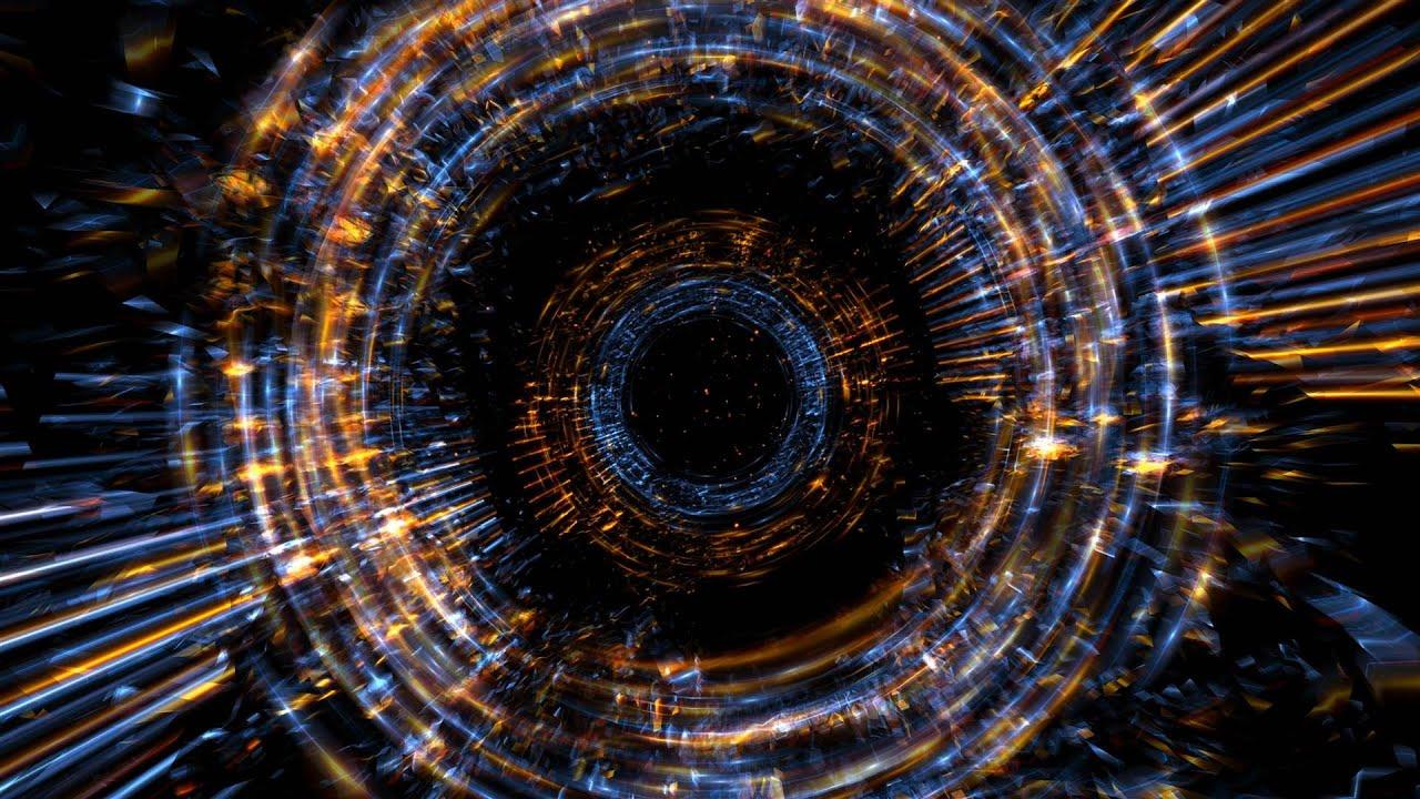 4K Dark Fire Rings Zoom Effect Motion Background 2160p - YouTube