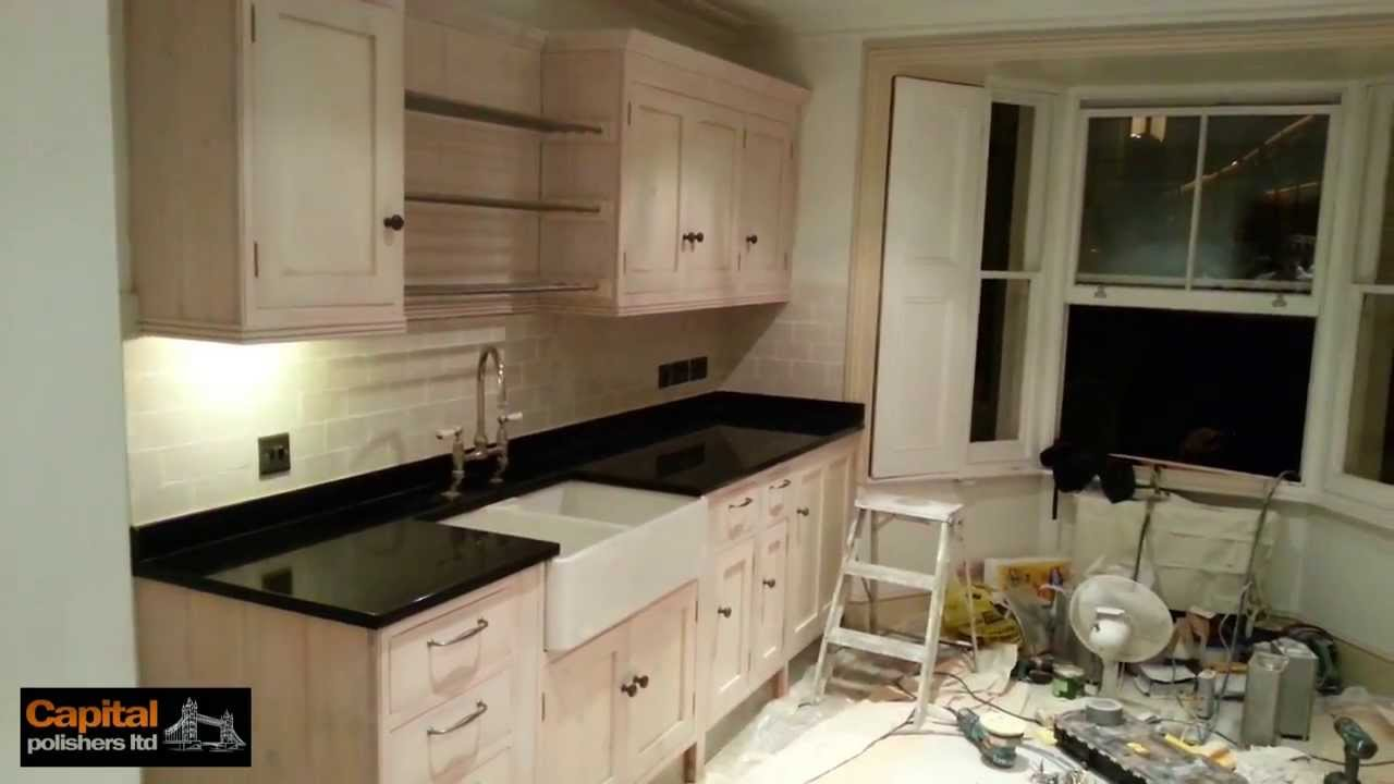 KITCHEN DOORS REFURBISHMENT - Restoring pine kitchen cupboards - YouTube