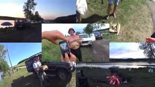 Благоустройство пруда Головище в Воронежской области на рыбалке у Звягина
