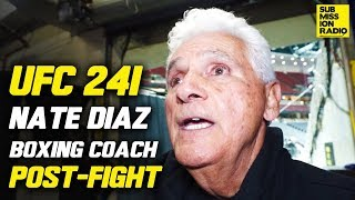 UFC 241: Nate Diaz's Coach Reacts to Win Over Pettis, Jorge Masvidal Fight Video