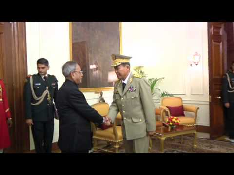 Vice Senior General Soe Win, Chief of Myanmar Army called on