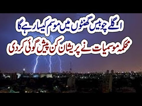 Daily Weather Report for Media | Pakistan Meteorological Department | Raaztv