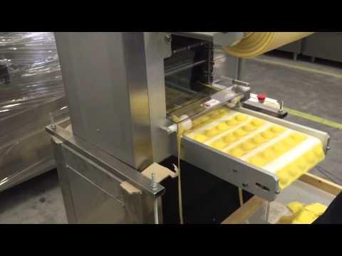 industrial automatic ravioli machine 300 kg h youtube. Black Bedroom Furniture Sets. Home Design Ideas