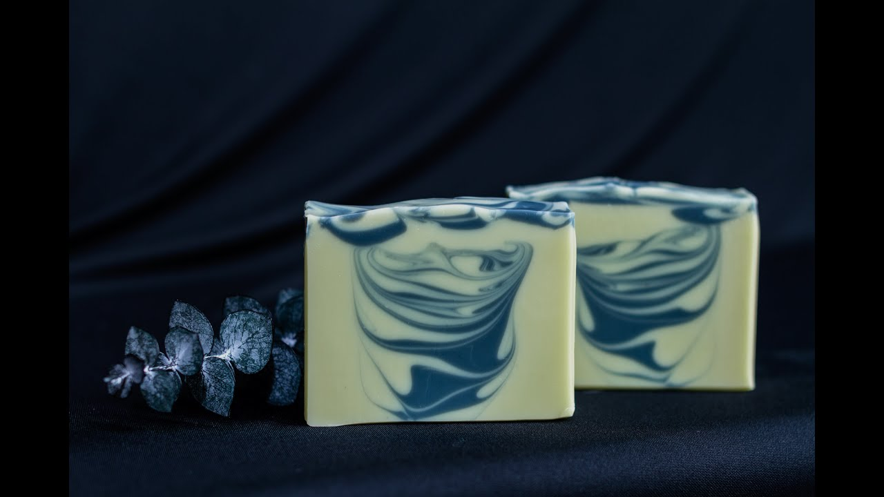 Natural Soap Color with Infused Oils - Hanger Swirl - Homemade Soap ...