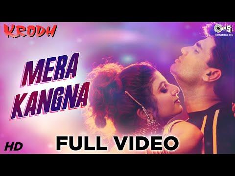 Mera Kangna - Krodh | Sunil Shetty & Rambha | Abhijeet & Alka Yagnik | Anand - Milind