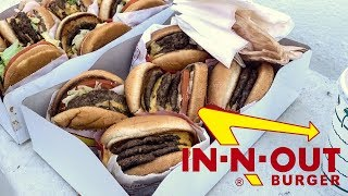 10.000 KALORIEN IN-N-OUT BURGER!
