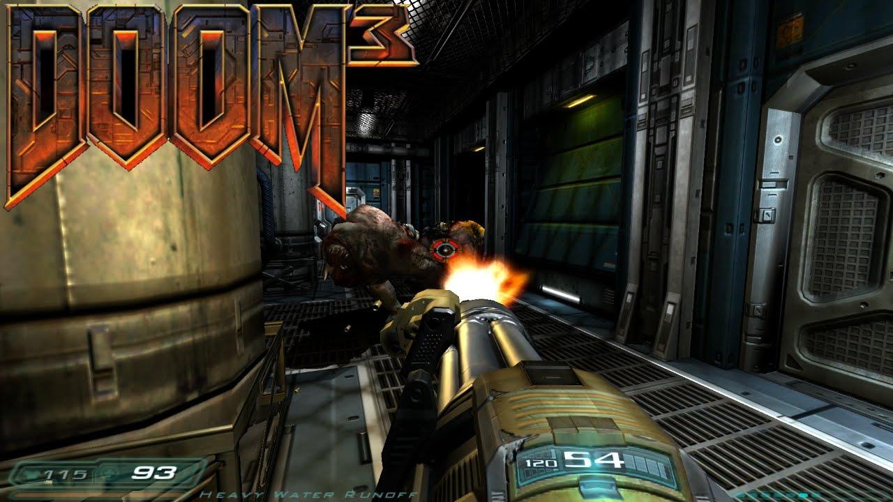 Doom 3 9 Now I Have A Chaingun Youtube