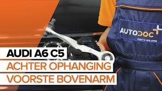 Hoe een achter ophanging voorste bovenarm vervangen op een AUDI A6 C5 [HANDLEIDING]