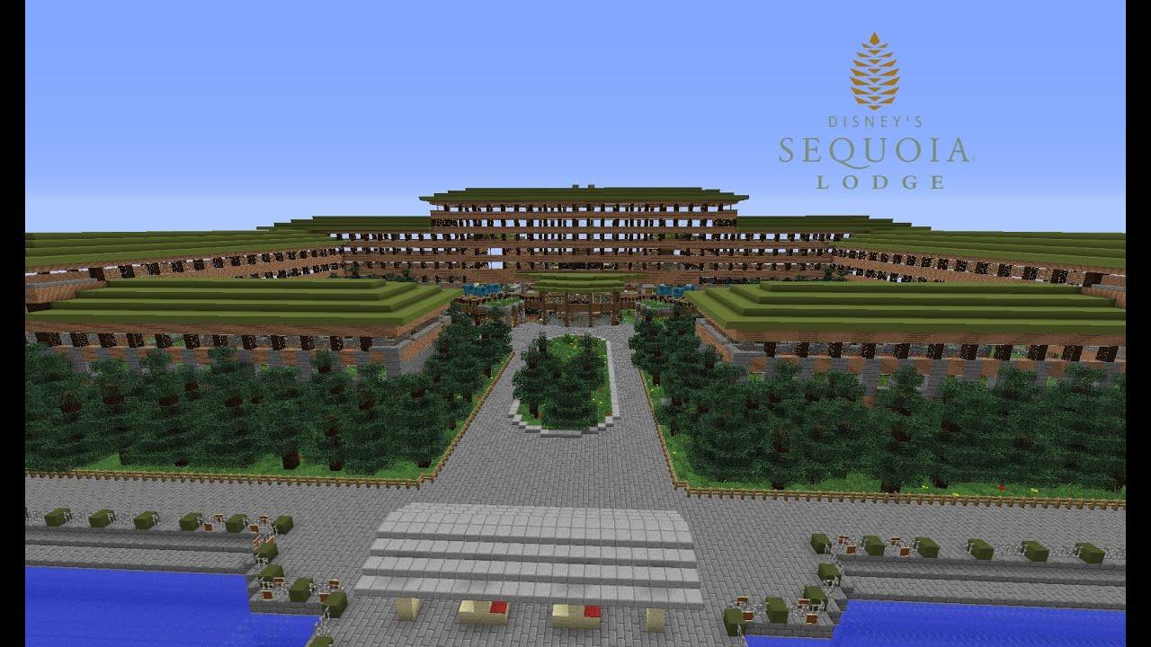 Timelapse hotel sequoia lodge youtube for Hotel sequoia lodge piscine