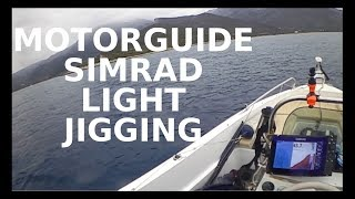 motorguide simrad light jigging