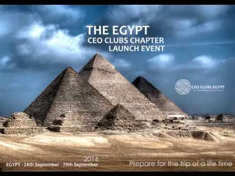 CEO CLUBS Egypt Chapter Launch Promo 2016