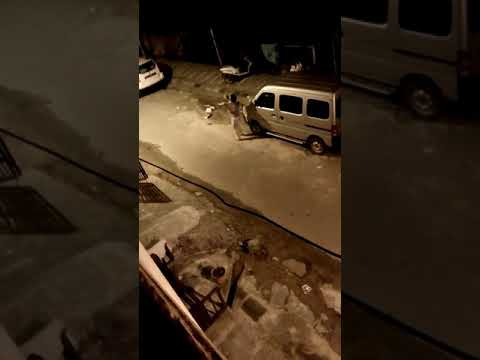 Drunk lady disturbs life in bangalore