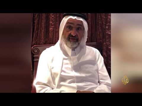 الشيخ عبد الله آل ثاني:أنا محتجز في أبو ظبي
